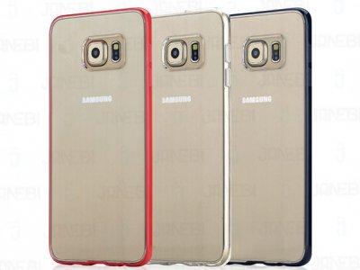 قاب محافظ شیشه ای Samsung Galaxy S6 edge Plus مارک Rock-Pure