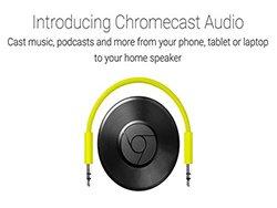 Chromecast Audio :پخش کننده موسیقی از حافظه های مجازی Cloud