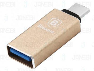 تبدیل تایپ سی به یو اس بی بیسوس Baseus Sharp Series Type-C Adapter