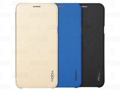 کیف چرمی Samsung Galaxy A8 مارک Rock