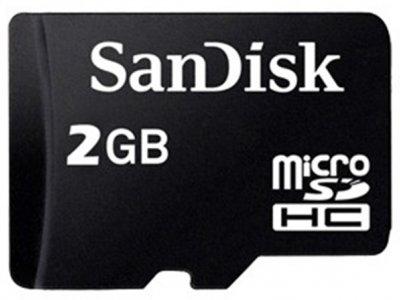رم میکرو اسدی 2 گیگابایت SanDisk Class 4