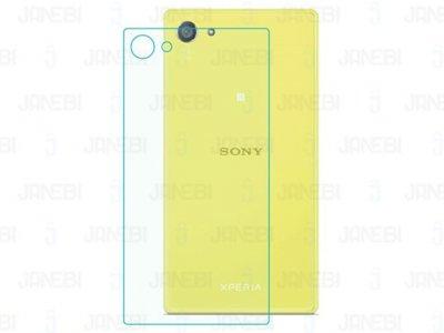 محافظ صفحه نمایش شیشه ای پشت Sony Xperia Z5 Compact