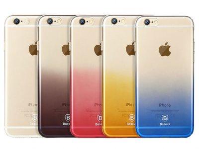 قاب محافظ بیسوس آیفون Baseus Gradient Case Apple iPhone 6/6s