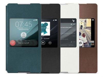 کیف اصلی Sony SCR30 Xperia Z4 Style Cover Window