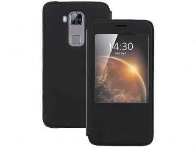 کیف چرمی اصلی Huawei G8 S View flip cover