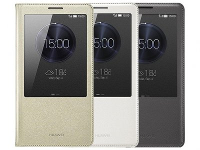 کیف اصلی Huawei Ascend Mate 7 S View flip cover