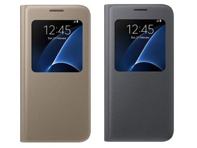 فیلیپ کاور اصلی سامسونگ Samsung Galaxy S7 S View Flip Cover