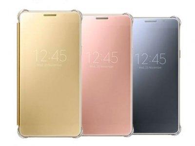 کاور اصلی Samsung Galaxy A7 2016 Clear View Cover