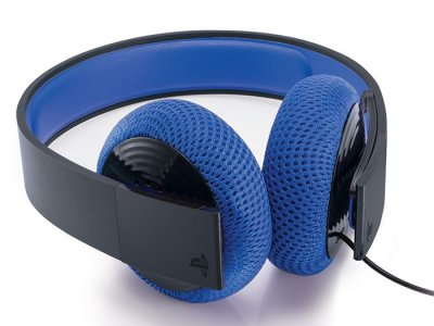هدفون سونی PlayStation Silver Wired Stereo Headset