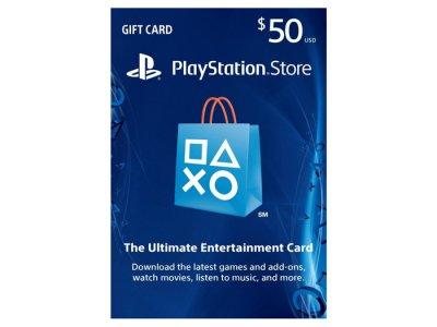 اکانت 50 دلاری سونی PlayStation Store Gift Card 50$
