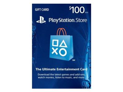 اکانت 100 دلاری سونی PlayStation Store Gift Card 100$
