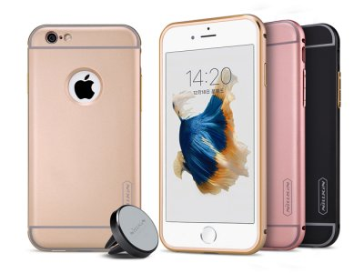 قاب محافظ و نگهدارنده آهنربایی نیلکین آیفون Nillkin Car Holder iphone 6/6S