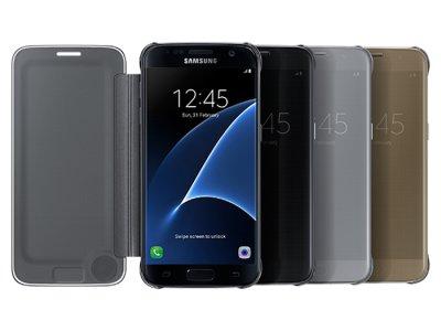 کاور اصلی Samsung Galaxy S7 Clear View Cover