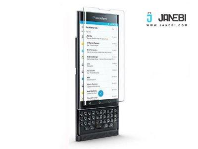 محافظ صفحه نمایش شیشه ای شفاف BlackBerry Priv مارک Sikai