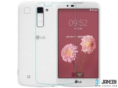 محافظ صفحه نمایش شیشه ای LG K10 مارک RG