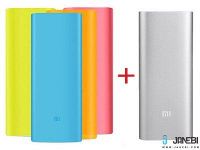 پاوربانک شیائومی Xiaomi Mi Power Bank 16000mAh همراه کاور سیلیکونی