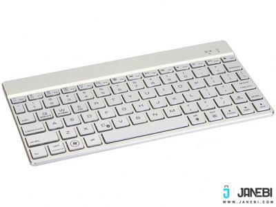 کیبورد بی سیم F3S Bluetooth LED Backlight Keyboard