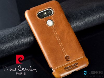 قاب چرمی LG G5 مارک Pierre Cardin