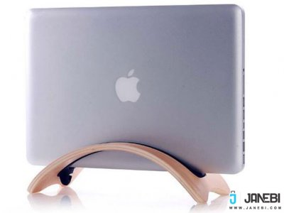 استند چوبی Vertical Stand For Macbook Pro مارک SAMDI