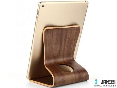 استند چوبی تبلت بیسوس PureWood Desktop Bracket مارک Baseus