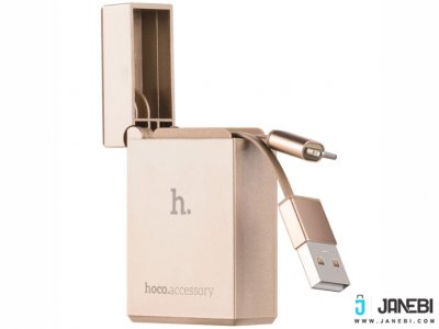 کابل لایتنینگ طرح فندک هوکو Hoco UPL17 Cigarete Lighter Lightning Cable
