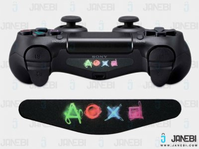 برچسب لایت بار Light Bar Stickers PS Buttons1