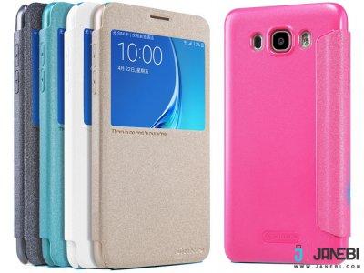 کیف نیلکین سامسونگ Nillkin Sparkle Leather Cas Samsung Galaxy J7 2016