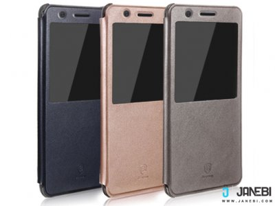 کیف چرمی بیسوس Baseus Leather S view Cover For Samsung Galaxy Note 7