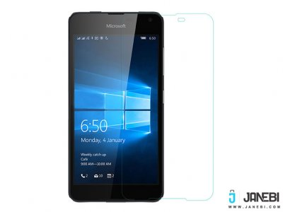 محافظ صفحه نمایش شیشه ای نیلکین Nilkkin H Tempered Glass for Microsoft Lumia 650