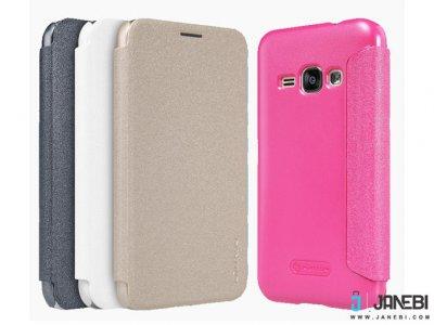 کیف نیلکین سامسونگ Nillkin Sparkle Leather Case Samsung Galaxy J1 2016