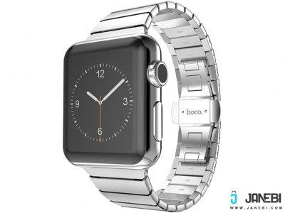 بند استیل هوکو اپل واتچ  Hoco Apple Watch METAL WATCHBAND 2 POINTERS 42mm
