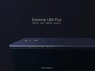 Extreme UMi Plus گوشی هوشمندی با رم 6، بدنه فلزی و قیمت مناسب