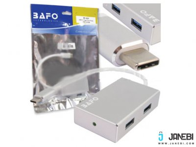 هاب تبدیل BAFO Type-C to 4 Ports USB 3.0 BF-4331