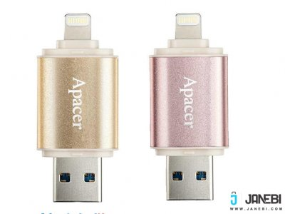 فلش مموری اپیسر Apacer AH190 Lightning USB Flash Memory - 16GB
