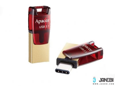 فلش مموری اپیسر Apacer AH180 USB Type-C Flash Memory - 32GB