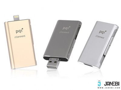 فلش مموری پی کیو آی Pqi i-Connect Lightning USB Flash Memory - 64GB