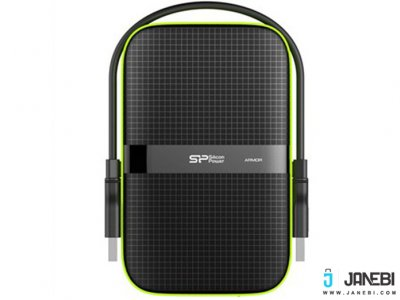 هارد اکسترنال Silicon Power Armor A60 External Hard Drive - 2TB