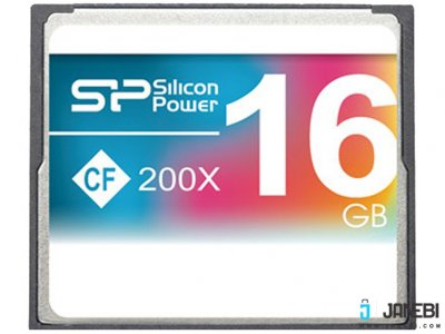 کارت حافظه سیلیکون پاور Silicon Power CF 200X Compact Flash Memory Card - 16GB