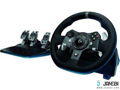 فرمان بازی لاجیتک Logitech G920 Driving Force Racing Wheel For XBOX One/PC