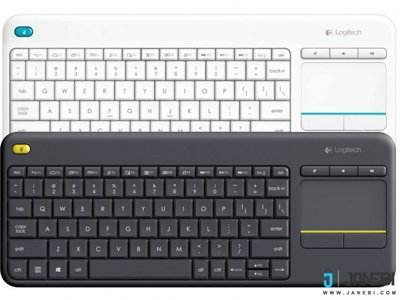 کیبورد بی سیم لاجیتک Logitech Wireless Touch Keyboard K400 Plus