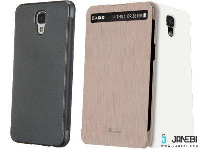 کیف اصلی ال جی Voia CleanUP Premium View Flip Cover LG X Screen