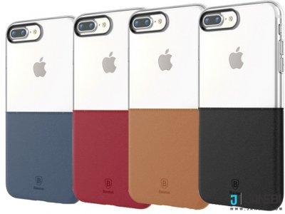 قاب محافظ بیسوس Baseus Half To Half Case iPhone 7 Plus/8 Plus