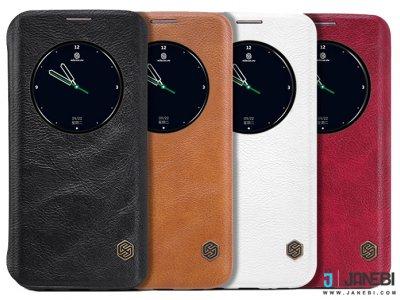 کیف چرمی نیلکین Nillkin Qin Leather Case Samsung S7 Edge