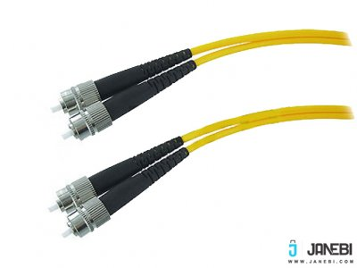 کابل فیبر نوری بافو BAFO Fiber Optic Cable Duplex Single-Mode (50/125um ) FC to FC - PC/APC 3.0mm