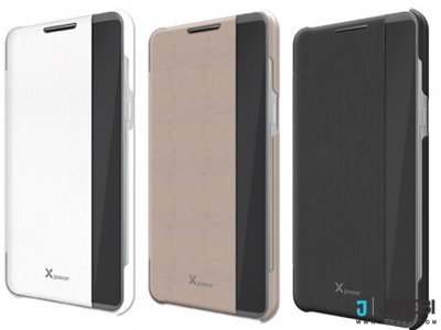 کیف اصلی ال جی Voia CleanUP Premium View Flip Cover LG X Power