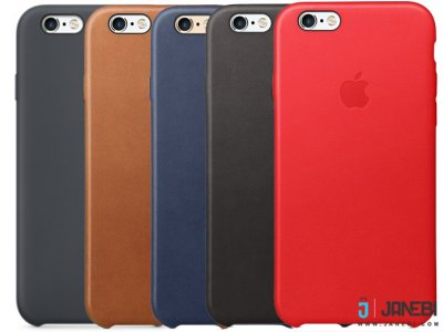 قاب  اصلی چرمی آیفون Apple iPhone 6/6S Original Leather Case