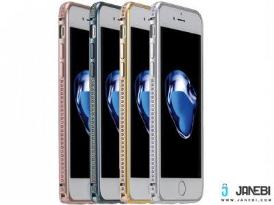 بامپر نگین دار آیفون Coteetci Diamond Bumper iPhone 7