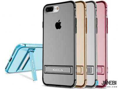 محافظ ژله ای نیلکین آیفون Nillkin Crashproof Ⅱ transparent holder iphone 7 Plus/8 Plus