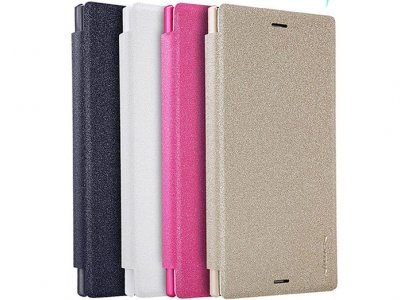 کیف نیلکین سونی Nillkin Sparkle Leather Case Sony XZ