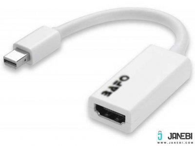 مبدل مینی دیسپلی پورت به اچ دی ام آی بافو BAFO Mini DisplayPort to HDMI Adapter BF-2611